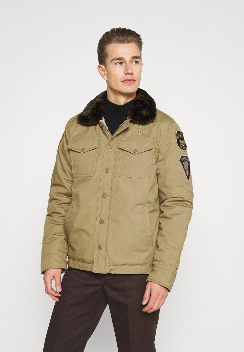 Schott - JEEPER - Winter jacket - beige