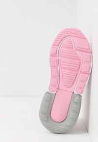 Nike Sportswear - AIR MAX 270 EXTREME - Mocasines - pink/metallic silver/white - 5
