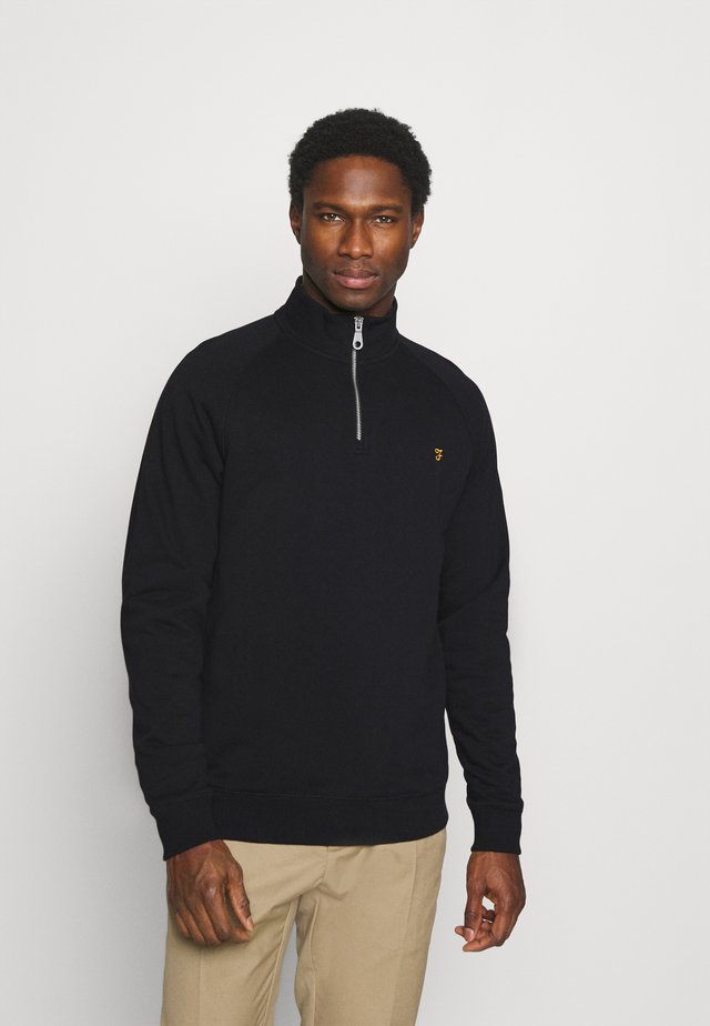 JIM ZIP - Sweatshirt - black