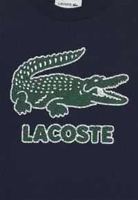 Lacoste - TEE LOGO UNISEX - T-shirts print - navy blue - 2