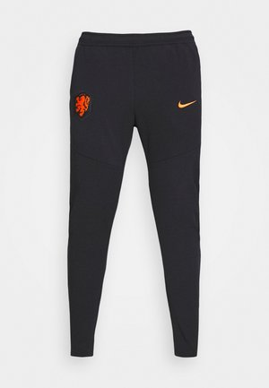 NIEDERLANDE PANT - Voetbalshirt - Land - black/safety orange