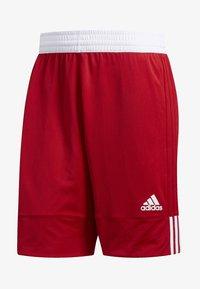 adidas Performance - SPEED REVERSIBLE SHORTS - Urheilushortsit - red - 6
