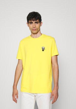 CREWNECK - Marškinėliai su spaudiniu - corn yellow