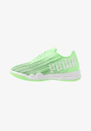 ADRENALITE 4.1 - Handball shoes - elektro green/white