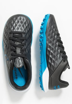 TIEMPO JR LEGEND 8 ACADEMY TF UNISEX - Astro turf trainers - black/blue hero