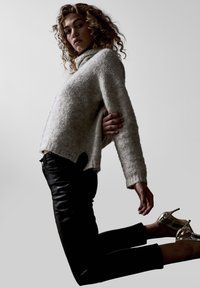 Denim Hunter - Leather trousers - black - 6