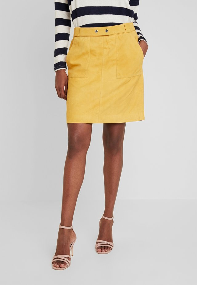 YASLILIE SKIRT - A-line skirt - sunflower