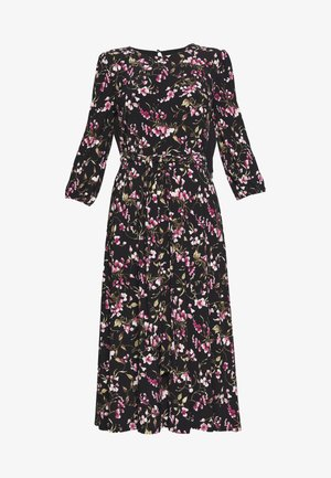 PRINTED MATTE DRESS - Day dress - black/pink/multi