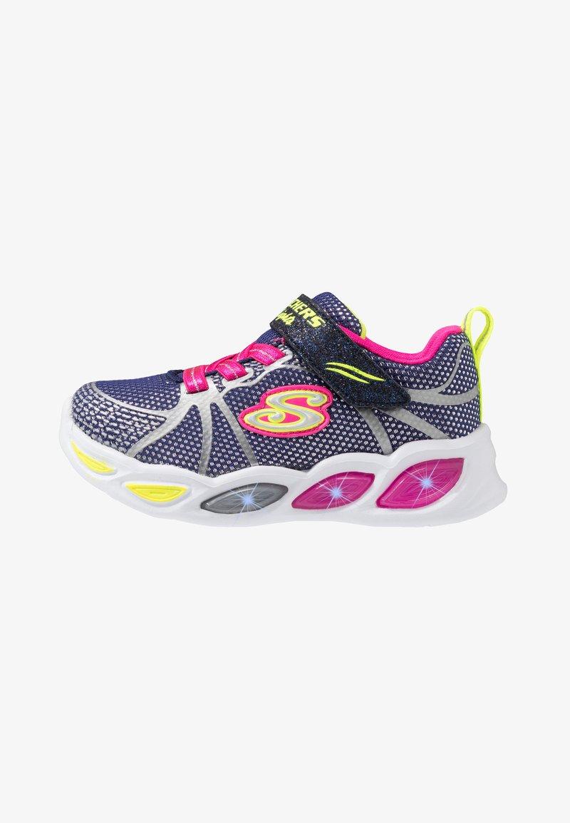 Skechers - SHIMMER BEAMS - Sneakers laag - navy sparkle/multicolor