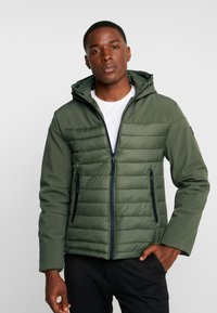 Dstrezzed - HOODY - Light jacket - dark army - 0
