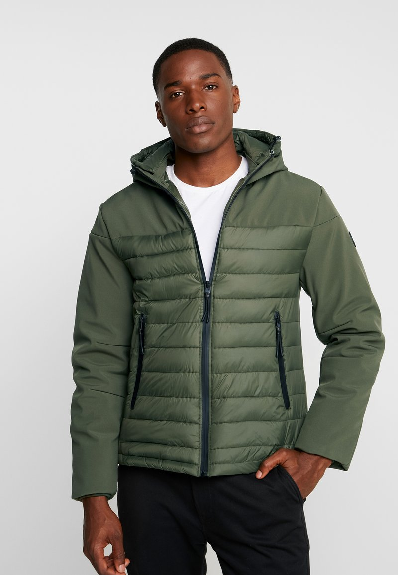 Dstrezzed - HOODY - Light jacket - dark army
