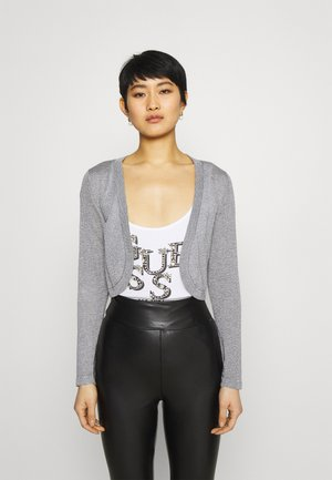 ANKRA BOLERO - Gilet - light grey/silver