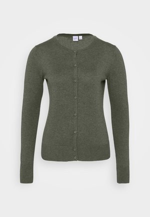 CREW - Strikjakke /Cardigans - forest green