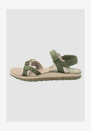 DELUXE - Sandales de randonnée - khaki / sand