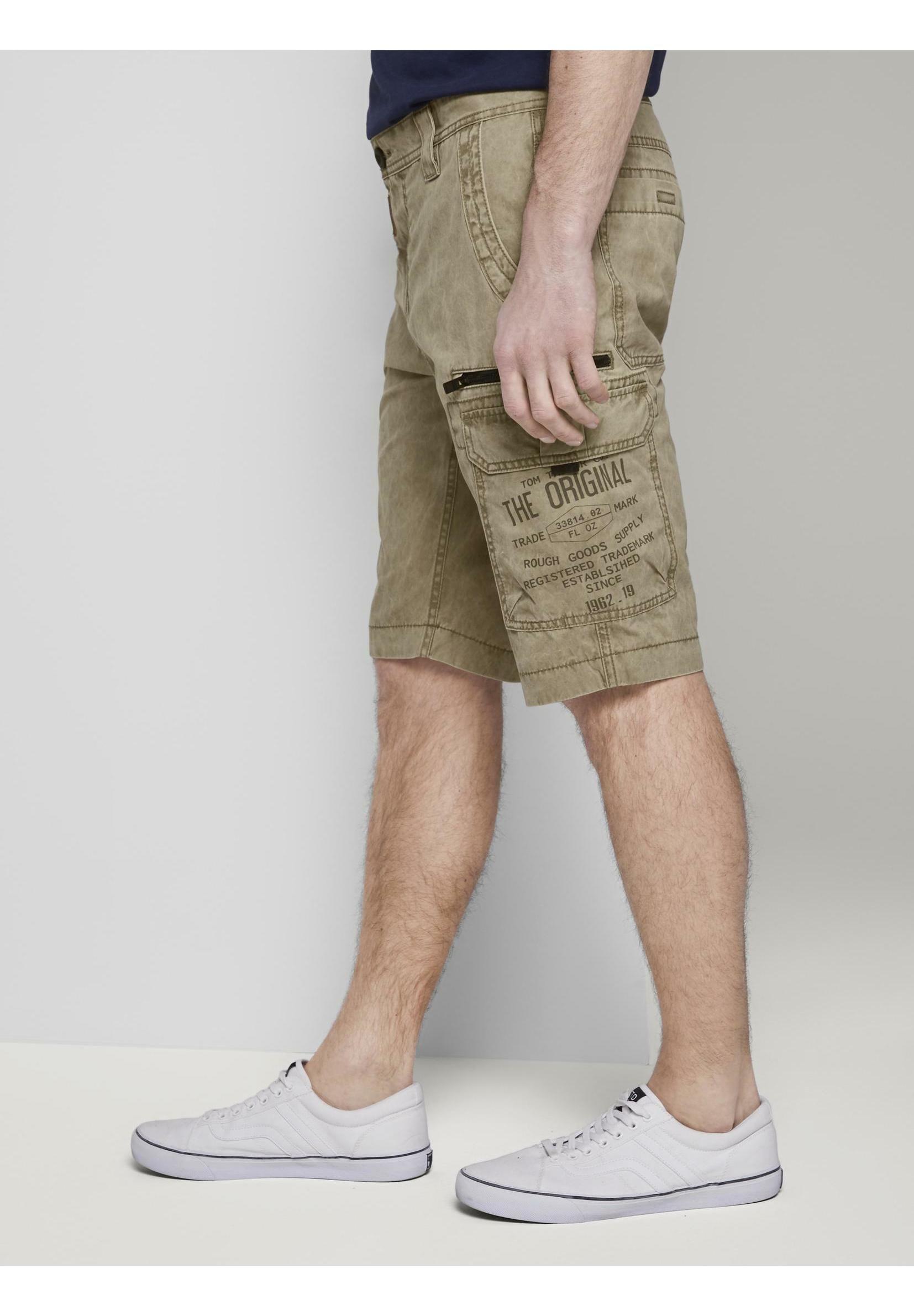 Tom Tailor Jeans Shorts - Honey Camel Beige