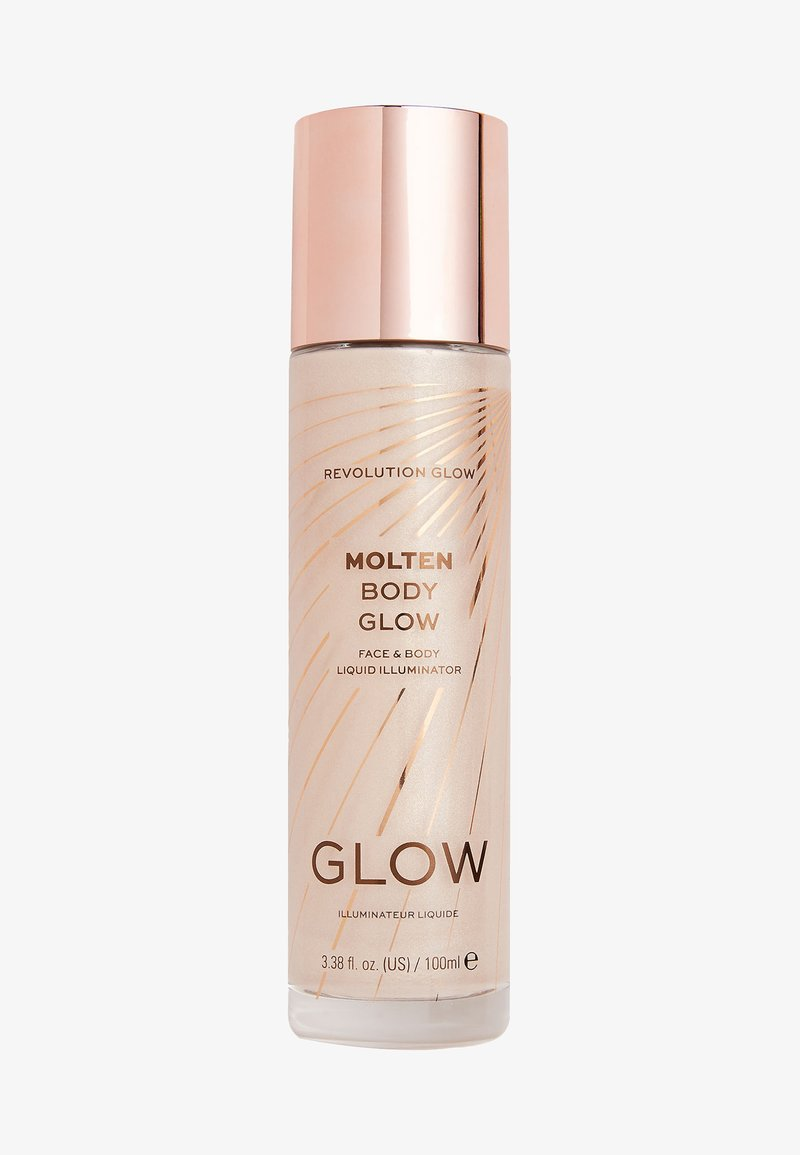 Make up Revolution - MOLTEN BODY GLOW - Body oil - gold