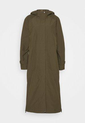 FUNCTIONAL RAINCOAT - Classic coat - army