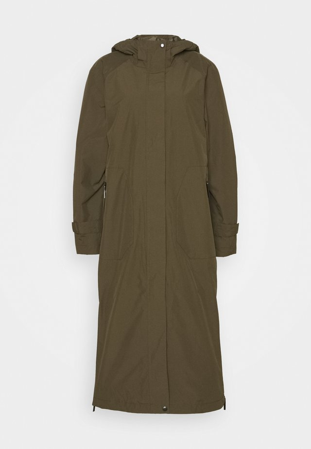 FUNCTIONAL RAINCOAT - Manteau classique - army