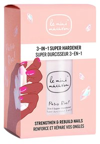 Le Mini Macaron - PARIS ROC 3 IN 1 SUPER HARDENER - Nail treatment - transparent - 2