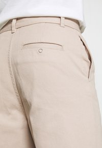 Weekday - ROSS WIDE TROUSERS - Trousers - beige - 5