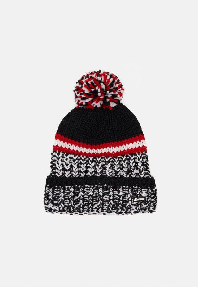 FLOG POMPON - Mütze - schwarz/weiß/bunt