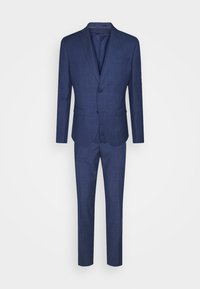 Isaac Dewhirst - THE FASHION SUIT 3 PIECE WINDOW CHECK SET - Completo - blue - 0