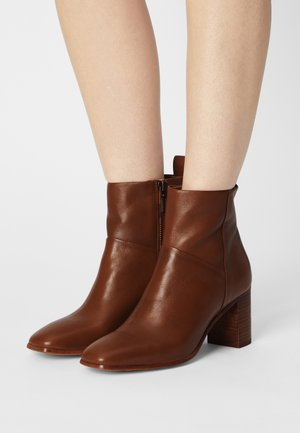 DELILAH - Classic ankle boots - medium brown
