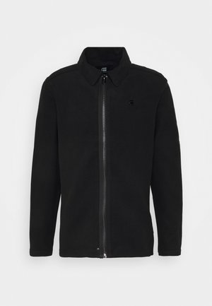 TYPE CLEAN OVERSHIRT - Korte jassen - black