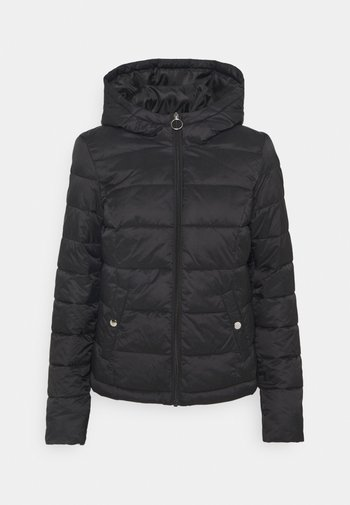 JDYZULU HOOD JACKET - Winter jacket - black