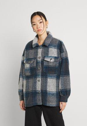 ONLANDREA SHACKET - Summer jacket - blue graphite/campaunla