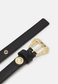 Versace Jeans Couture - VITELLO BELTS - Belte - nero - 1