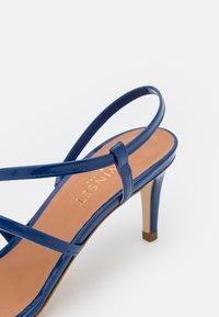 TWINSET - TACCO MEDIO  - Sandals - nautical blue - 6