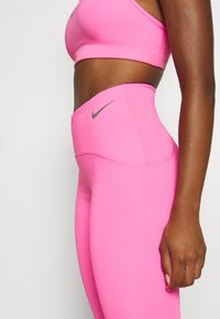 Nike Performance - SPEED 7/8 MATTE - Leggings - pink glow/gunsmoke - 4
