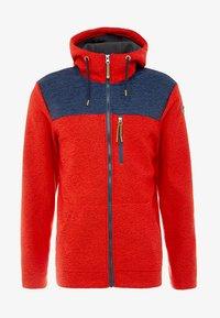 Icepeak - ATHOL - Fleece jacket - coral red - 4