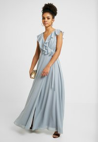 TFNC Petite - JANEAN MAXI WRAP - Occasion wear - grey blue - 2