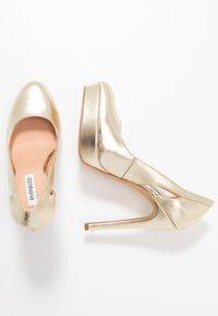 Even&Odd - High heels - gold - 3