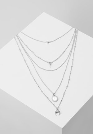 ONLVIOLET NECKLACE - Collana - silver-coloured