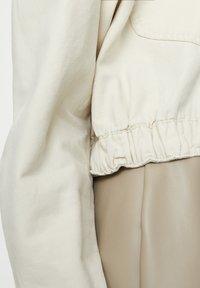 PULL&BEAR - Faux leather jacket - beige - 5