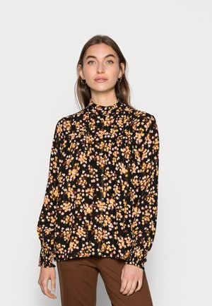 LUCKY ISA BLOUSE - Camicetta - black/lovely pink
