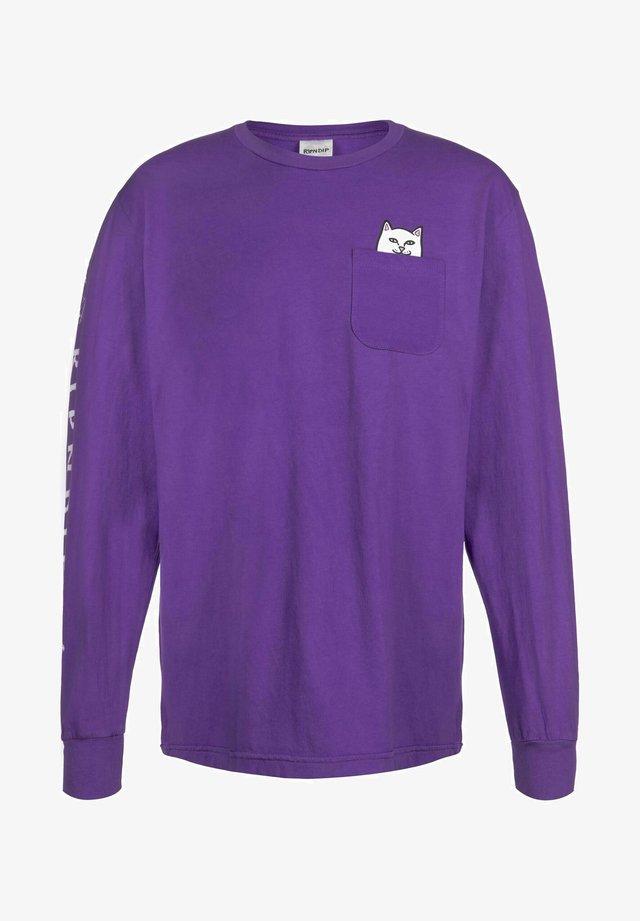 T-shirt à manches longues - purple