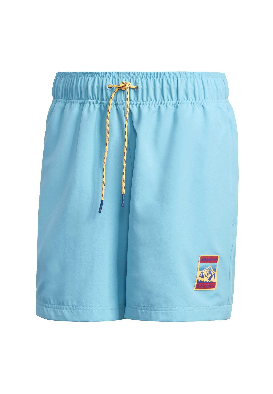 Adidas Originals Adiplore Woven Shorts - Szorty Kąpielowe Turquoise