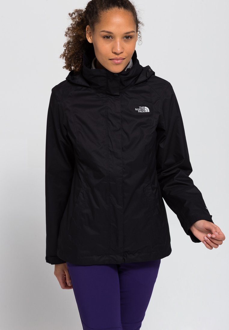 The North Face - W EVOLVE II TRICLIMATE JACKET - EU - Hardshell jacket - black
