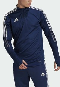 adidas Performance - TIRO21 TR TOP - Longsleeve - blue - 3
