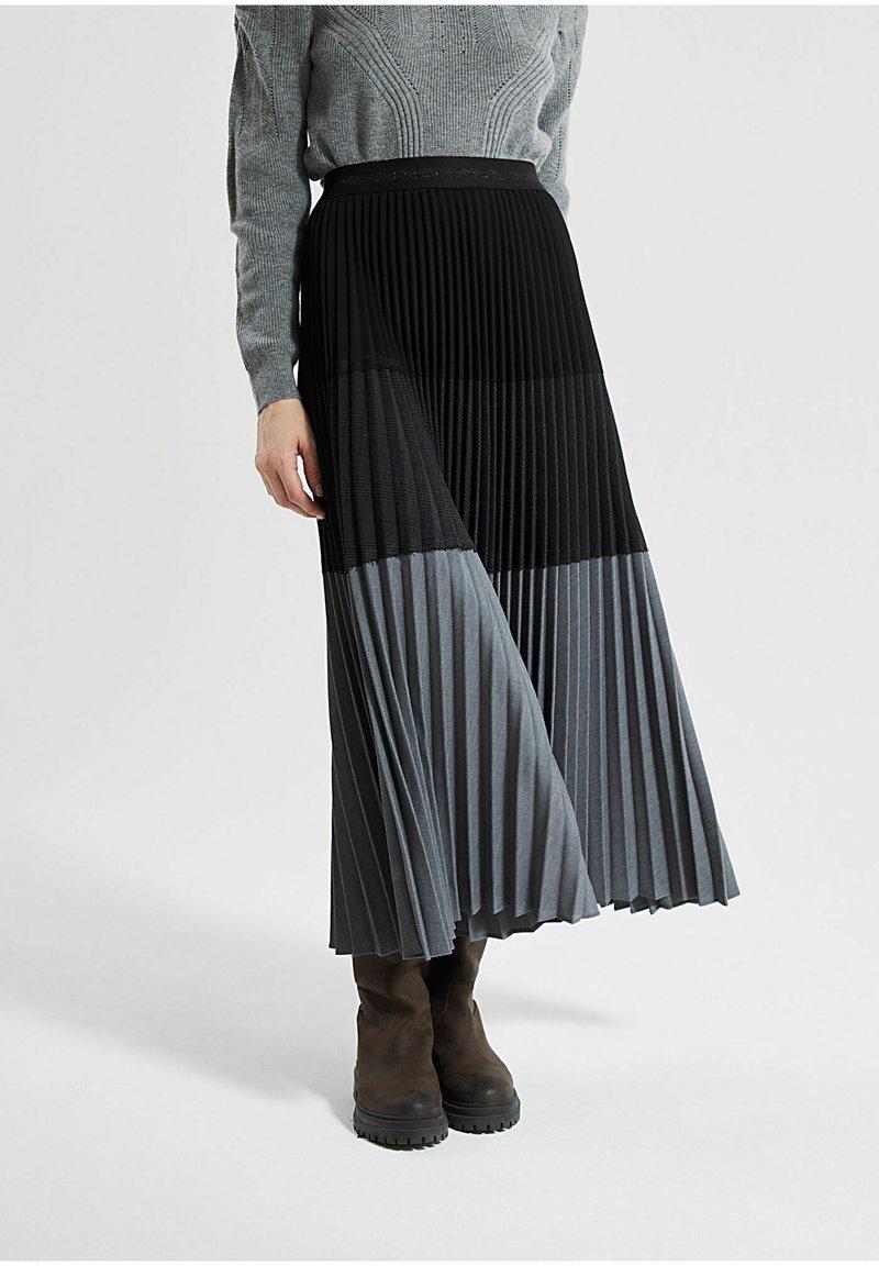 IKKS - Pleated skirt - noir
