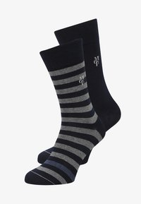 Marc O'Polo - 2 PACK SWEN - Socks - dark blue - 0