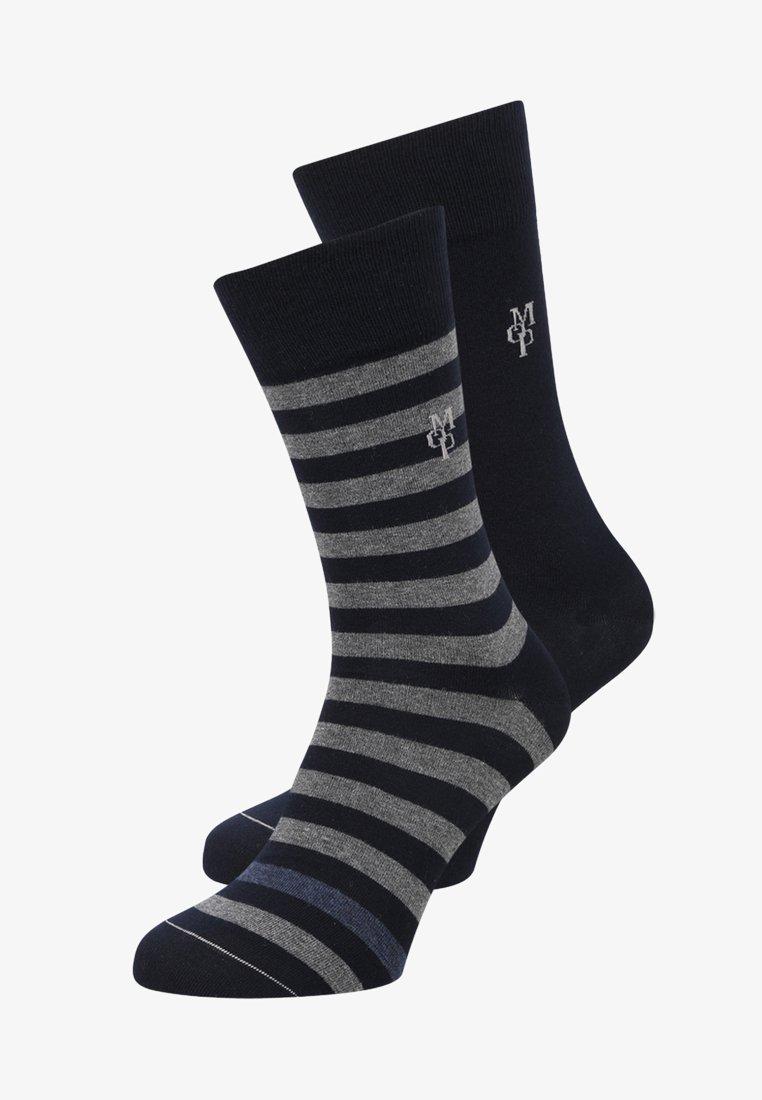Marc O'Polo - 2 PACK SWEN - Socks - dark blue