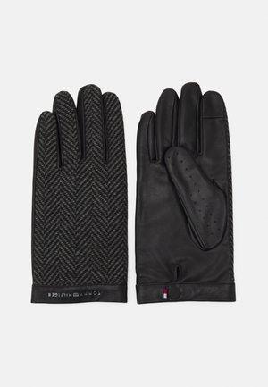 MIX GLOVES - Gloves - black