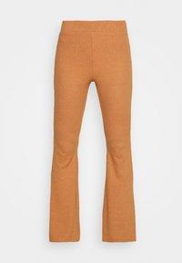 aerie - RIBBED FLARE PANT - Spodnji del pižame - hazel - 3