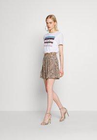Ivyrevel - A-LINE MINI SKIRT - A-line skirt - black - 1