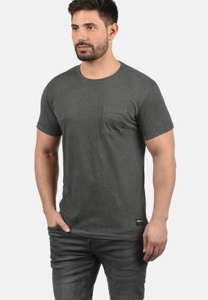 Basic T-shirt - grey melange